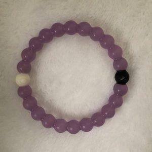 Purple lokai bracelet